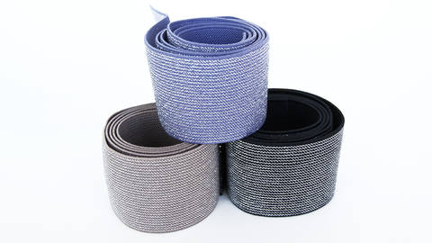 Elastisches Glitzerband - 5 cm kaufen im Makerist Materialshop
