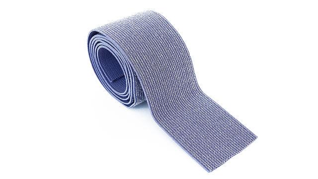 Elastisches Glitzerband - jeansfarbend - 5 cm - Kurzwaren und Zubehör kaufen im Makerist Materialshop