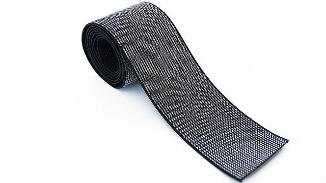 Elastisches Glitzerband - schwarz - 5 cm - Kurzwaren und Zubehör kaufen im Makerist Materialshop