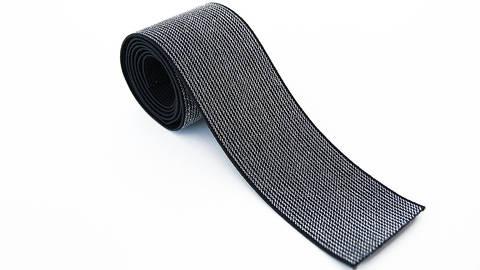 Elastisches Glitzerband - schwarz - 5 cm kaufen im Makerist Materialshop