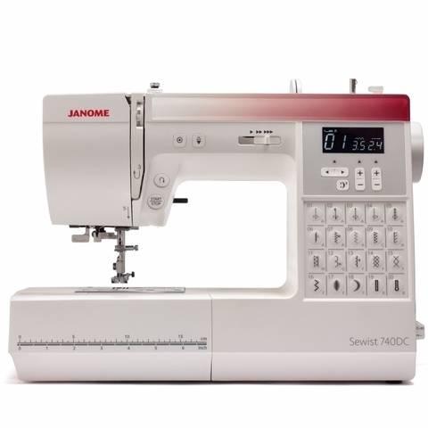 JANOME Sewist 740DC kaufen im Makerist Materialshop