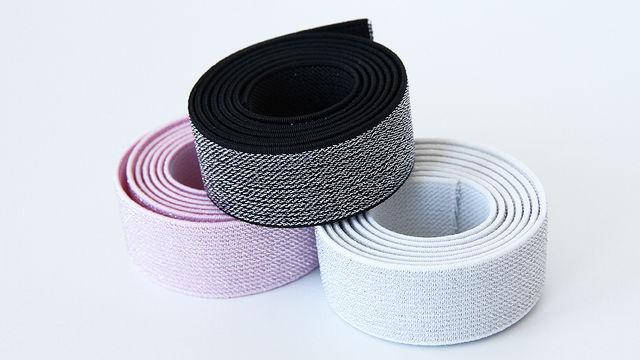 Elastisches Glitzerband - 2,5 cm - Kurzwaren und Zubehör kaufen im Makerist Materialshop