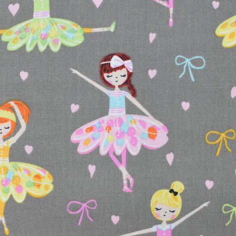 Baumwolle Riley Blake Ballerina Bows kaufen im Makerist Materialshop