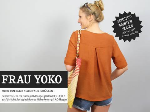 Studio Schnittreif - Schnittmuster und Nähanleitung gedruckt: Frau Yoko Tunika kaufen im Makerist Materialshop