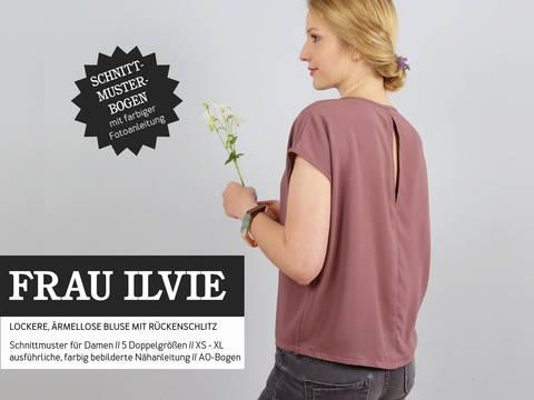 Studio Schnittreif - Schnittmuster und Nähanleitung gedruckt: Frau Ilvie Bluse kaufen im Makerist Materialshop