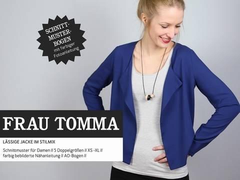 Studio Schnittreif - Schnittmuster und Nähanleitung gedruckt: Frau Tomma Jacke kaufen im Makerist Materialshop