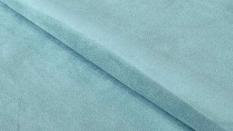 Velours-Lederimitat hellblau - 150 cm kaufen im Makerist Materialshop