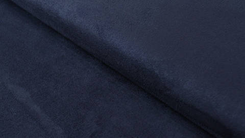 Velours-Lederimitat dunkelblau - 150 cm kaufen im Makerist Materialshop