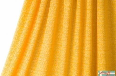 Lillestoff Jacquardstoff gelb: Luiaard Waves - 140 cm kaufen im Makerist Materialshop