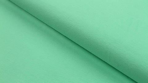 Baumwolljersey mint: uni - 160 cm kaufen im Makerist Materialshop