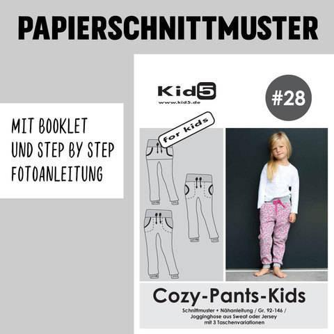 Kid5 Schnittmuster und Nähanleitung gedruckt: Cozy-Pants-Kids kaufen im Makerist Materialshop