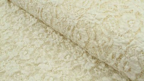 Nylon-Spitze ecru elastisch: Franzi - 137 cm kaufen im Makerist Materialshop