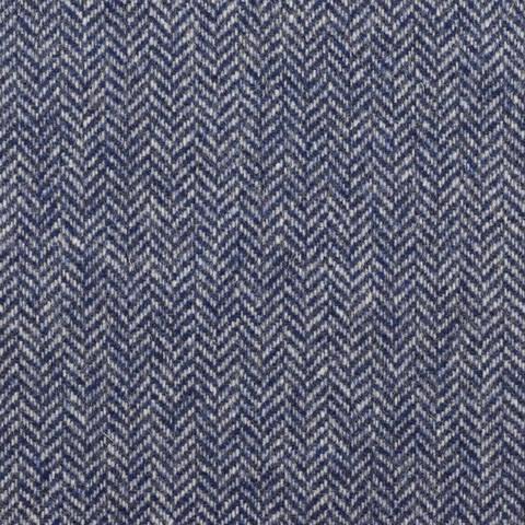 Massimo **Made in Italy**, Tweed, Fischgrät, blau kaufen im Makerist Materialshop
