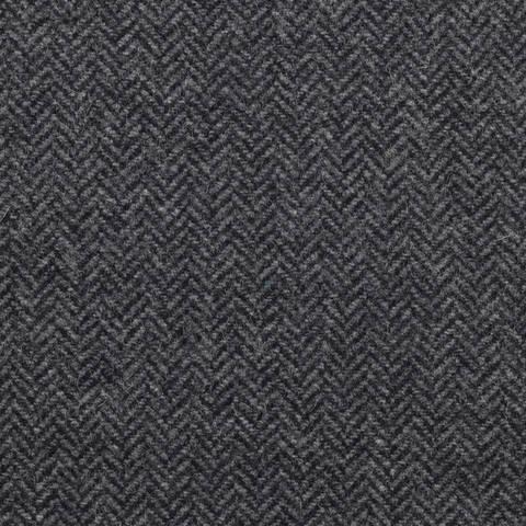Massimo **Made in Italy**, Tweed, Fischgrät, anthrazit kaufen im Makerist Materialshop