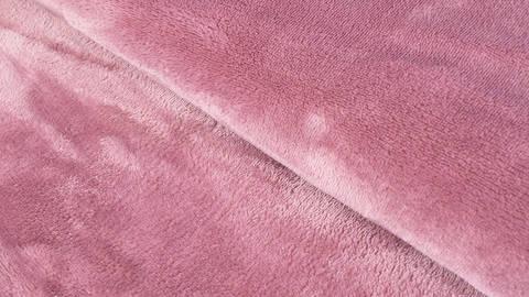 Kuschel-Fleece altrosa - 145 cm kaufen im Makerist Materialshop