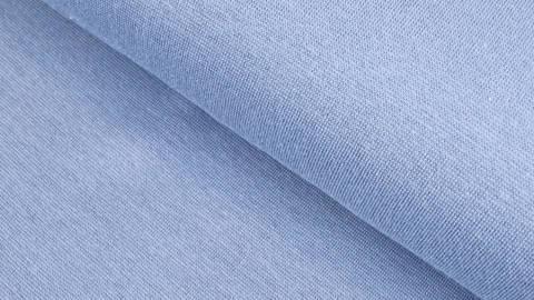 Bündchenstoff rauchblau: Heike - 100 cm kaufen im Makerist Materialshop
