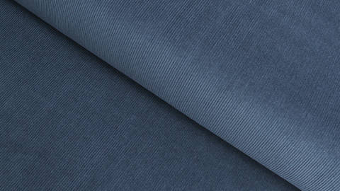 Cordstoff fein dark denim - 147 cm kaufen im Makerist Materialshop