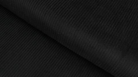 Acheter Velours côtelé noir - 147 cm dans la mercerie Makerist