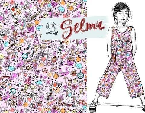 Lillestoff Bio-Summersweat rosa: Selma - 160 cm kaufen im Makerist Materialshop