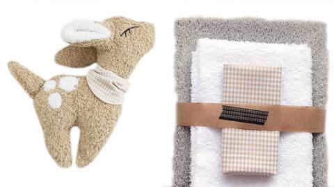 Nähset Kuscheltier hellgrau von Naturfaden Design kaufen im Makerist Materialshop