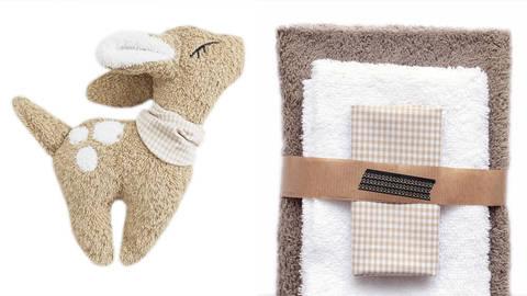 Nähset Kuscheltier hellbraun von Naturfaden Design kaufen im Makerist Materialshop