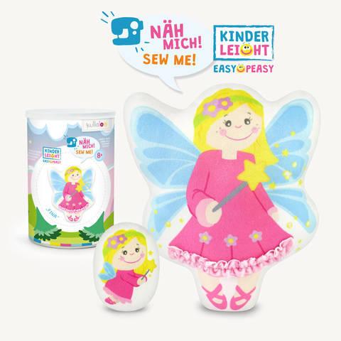 """Kinder Nähset Kuschelfigur Fee """"Fina"""" von kullaloo kaufen im Makerist Materialshop"""