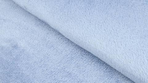 Kuschel-Fleece blau - 145 cm kaufen im Makerist Materialshop