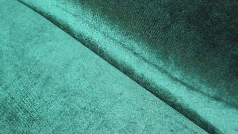 Samtstoff Stretch dunkelgrün - 165 cm kaufen im Makerist Materialshop