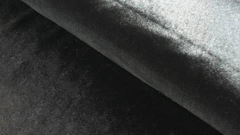 Samtstoff Stretch schwarz - 165 cm kaufen im Makerist Materialshop
