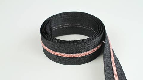 Endlosreißverschluss: kupfer-schwarz - 4 mm  kaufen im Makerist Materialshop