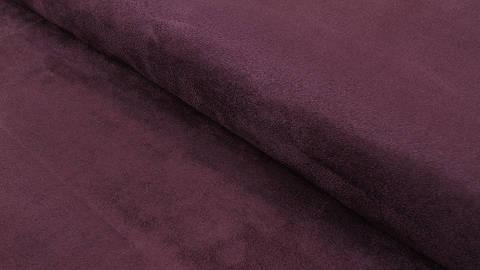 Acheter Faux suède/velours aubergine - 150 cm dans la mercerie Makerist