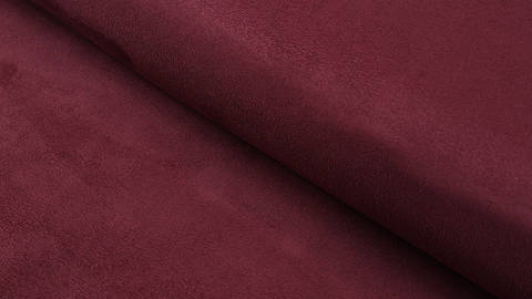 Acheter Faux suède/velours bordeaux - 150 cm dans la mercerie Makerist