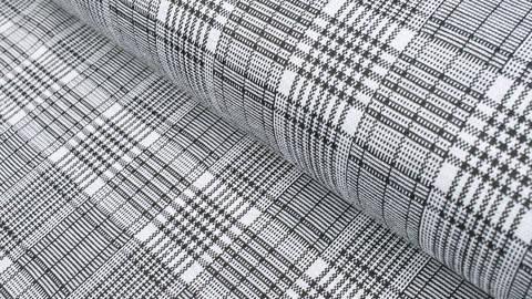 Elastischer Blazerstoff schwarz-weiß kariert: Check Stanford Black - 150 cm kaufen im Makerist Materialshop