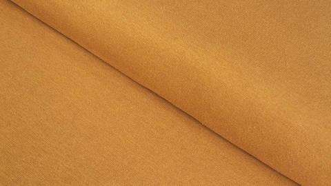 Bündchenstoff ocker: Heike - 100 cm kaufen im Makerist Materialshop