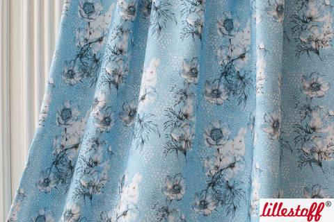 Lillestoff Bio-Summersweat hellblau: Winterwelt - 160 cm kaufen im Makerist Materialshop