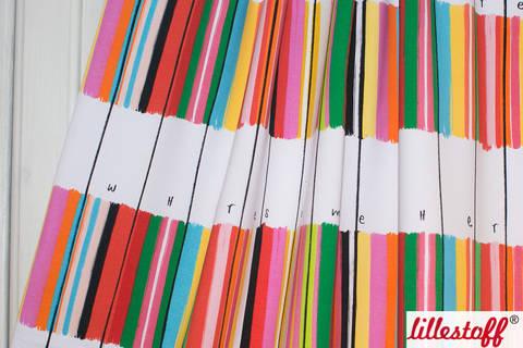 Lillestoff Bio-Summersweat weiß: Colorida - 160 cm kaufen im Makerist Materialshop