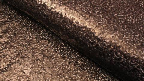 Paillettenstoff schwarz - 140 cm im Makerist Materialshop
