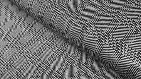 Elastischer Blazerstoff kariert: Check Stanford - 150 cm kaufen im Makerist Materialshop