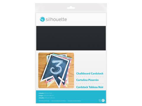 Kreidetafel Fotokarton selbstklebend von Silhouette - 21,5 cm x 28 cm kaufen im Makerist Materialshop