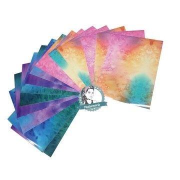 Acheter Feuille vinyle mat pour plotter : Aquarelle - DIN A4 - Plotters et accessoires dans la mercerie Makerist