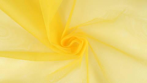 Fester Tüllstoff gelb - 160 cm kaufen im Makerist Materialshop