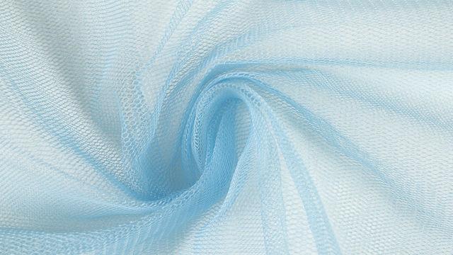 Fester Tüllstoff hellblau - 160 cm - Stoffe kaufen im Makerist Materialshop