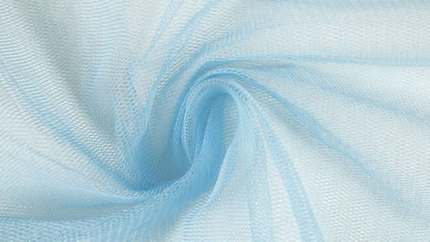 Fester Tüllstoff hellblau - 160 cm kaufen im Makerist Materialshop