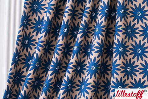 Lillestoff Bio-Jersey: Big Blues - 160 cm kaufen im Makerist Materialshop