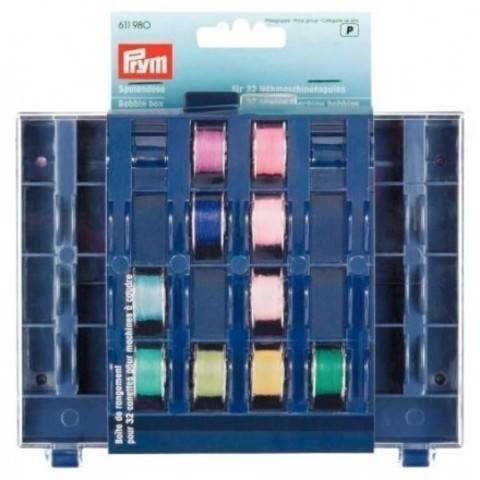 Spulendose für 32 Nähmaschinenspulen, leer 3 x 13 x 16 cm kaufen im Makerist Materialshop