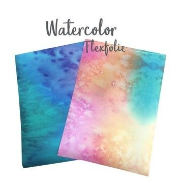 Flexfolie zum Plotten: Watercolor - DIN A4 - Plotter und Folien kaufen im Makerist Materialshop