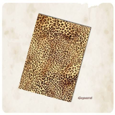 Flexfolie zum Plotten:  Fellmuster - DIN A4 - Leopard kaufen im Makerist Materialshop
