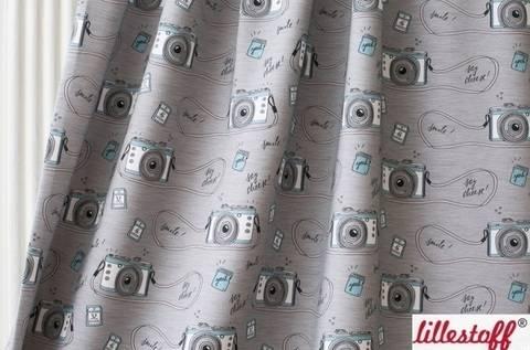 Lillestoff Bio-Summersweat hellgrau meliert: Smile - 160 cm kaufen im Makerist Materialshop
