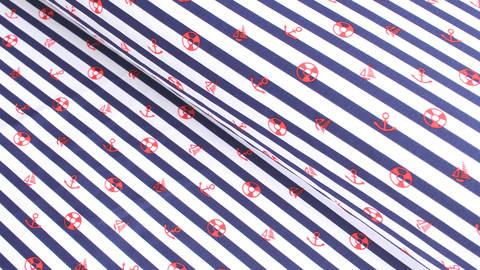 Bademodenstoff blau-weiß gestreift: Maritim - 152 cm kaufen im Makerist Materialshop