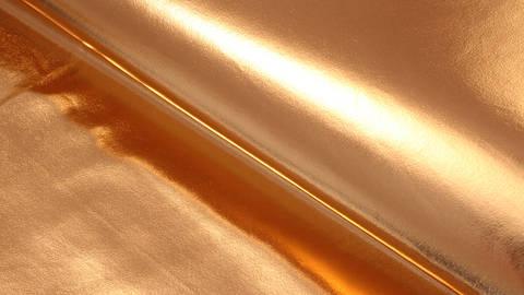 Acheter Jersey métallisé: cuivre brillant - 146 cm dans la mercerie Makerist